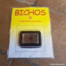 Coleccionismo: COLECCION BICHOS-EDIC.RBA.CIERVO LONGICORNE DE OCEANIA. Lote 269215483