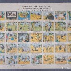 Coleccionismo: EXPEDICIÓN SIN IGUAL DE PEDRUCHO Y SU REBAÑO AL ÁFRICA TROPICAL - IMP. JUAN MORRAL. Lote 269743683