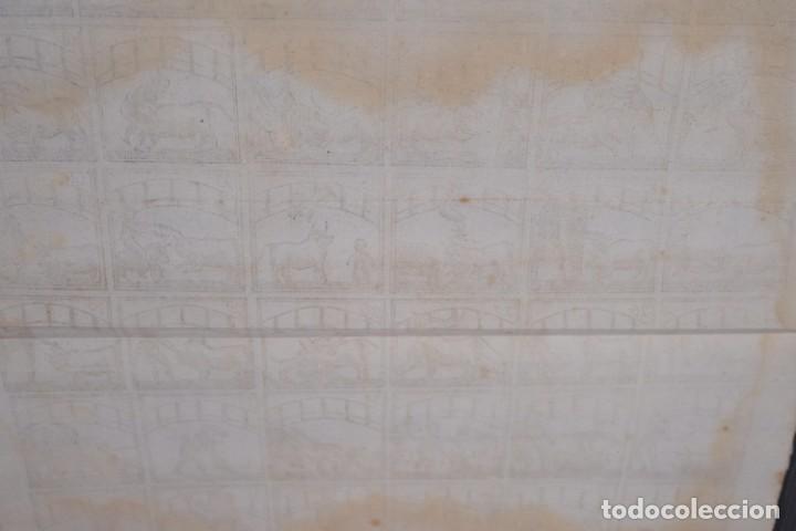 Coleccionismo: Auca/Aleluya Toros - Libreria Piferrer siglo XIX - Foto 5 - 269744263