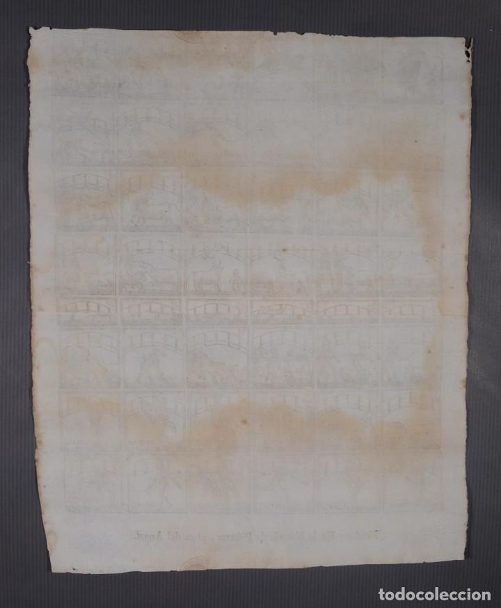 Coleccionismo: Auca/Aleluya Toros - Libreria Piferrer siglo XIX - Foto 10 - 269744263