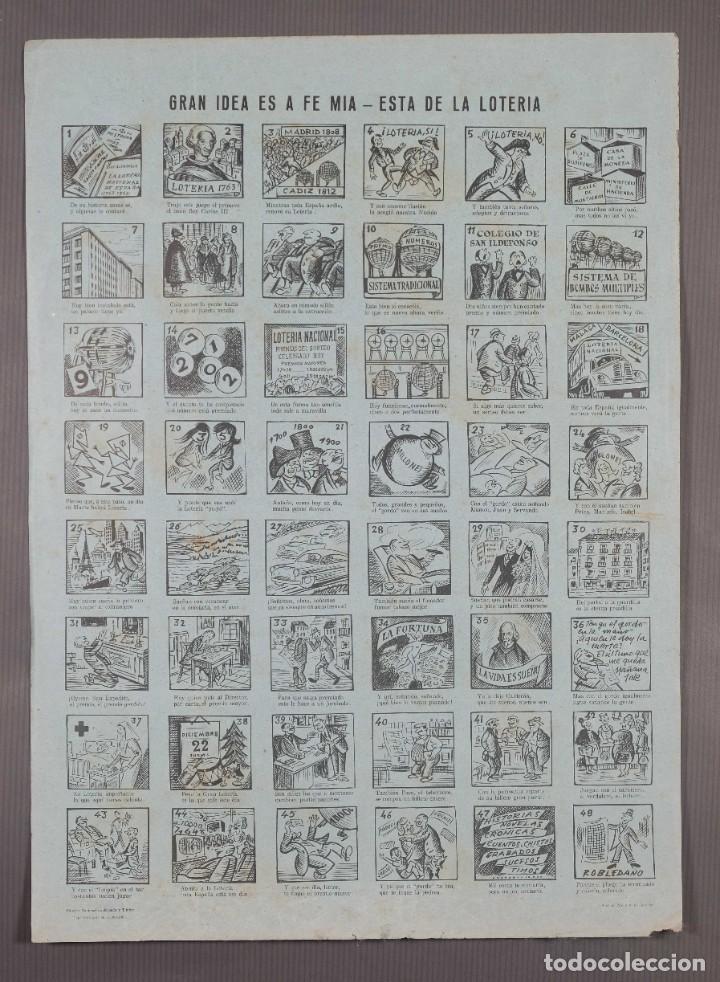 AUCA/ALELUYA - GRAN IDEA ES A FE MIA, ESTA ES LA LOTERIA - 1967 (Coleccionismo - Laminas, Programas y Otros Documentos)