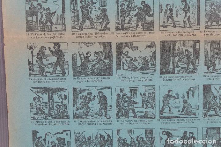 Coleccionismo: Auca/Aleluya Juegos de la infancia segunda parte - Despacho Sucesores de Hernando Madrid - Foto 9 - 269747873