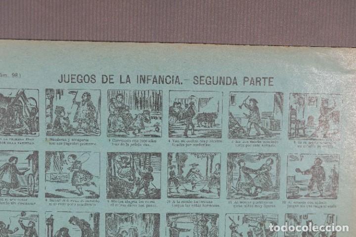 Coleccionismo: Auca/Aleluya Juegos de la infancia segunda parte - Despacho Sucesores de Hernando Madrid - Foto 11 - 269747873