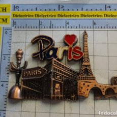 Coleccionismo: IMAN DE NEVERA. SOUVENIR RECUERDO TURISMO. PARIS, FRANCIA. MONUMENTOS.. Lote 269959698