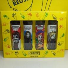 Coleccionismo: CLIPPER JUEGO DE TRONOS X CALAVERITAS CAJA. Lote 269985753