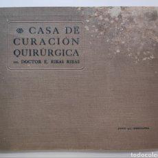 Coleccionismo: CLÍNICA RIBAS CASA DE CURACIÓN BARCELONA 1917 GRABADO Y ESTAMPADO THOMAS. Lote 270579213