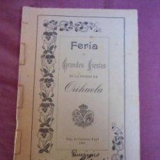 Coleccionismo: PANEGIRICO DE LOS DOLORES DE LA STMA.VIRGEN.EDUARDO TORRES,PBRO.SEMON MANUSCRITO,ORIHUELA 1901.RARO. Lote 271693948