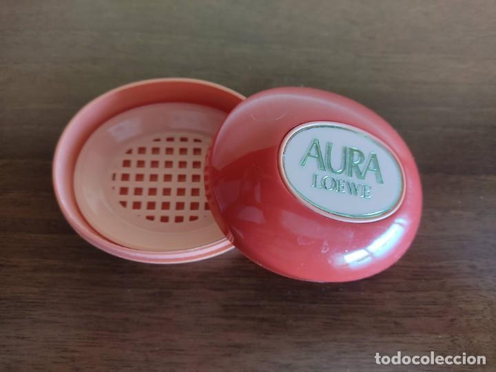 Coleccionismo: Jabonera Aura de Loewe en perfecto estado. Descatalogada. - Foto 2 - 272769963
