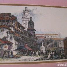 Coleccionismo: LAMINA DE IMAGEN DE VITORIA. 30X21 CM. LEER LA DESCRIPCIÓN.. Lote 274030013