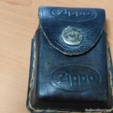 Coleccionismo: ANTIGUA FUNDA DE CUERO DE ENCENDEDOR ZIPPO. Lote 275086753