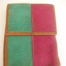 Coleccionismo: FUNDA PARA CAJETILLA DE CIGARRILLOS TABACO CESAS PIEL. Lote 275088538
