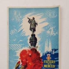 Collezionismo: PR-2175. PROGRAMA FIESTAS DE LA MERCED BARCELONA 1951.. Lote 276282288
