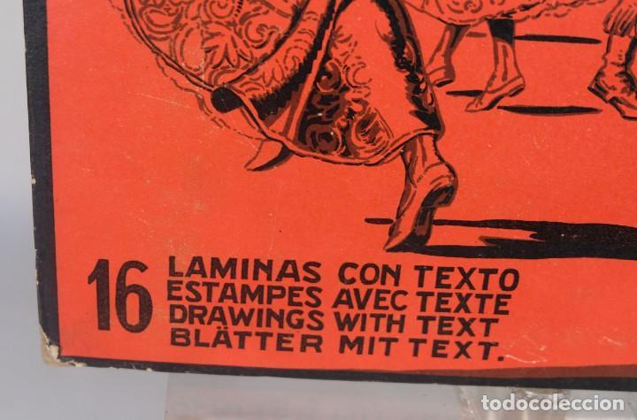 Coleccionismo: Bailes típicos y escudos de España y sus regiones - C.Llobet Busquets - 16 láminas 1929 - Foto 6 - 276406093