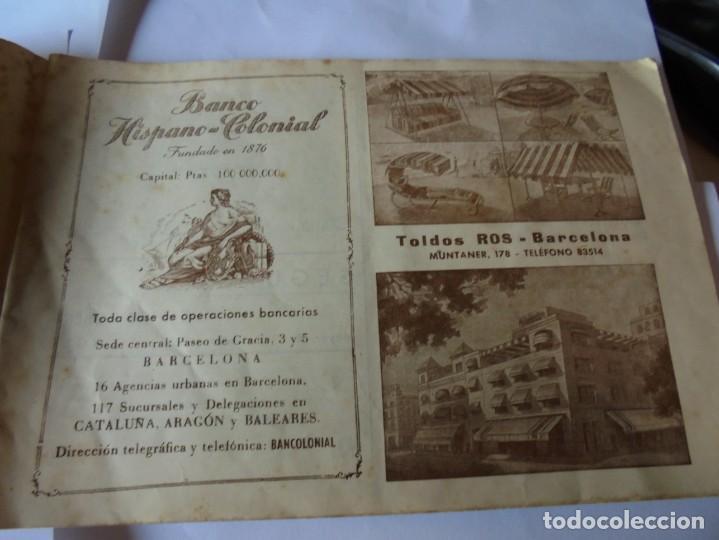 Coleccionismo: magnifico antiguo programa fiesta mayor sitges del 1947 - Foto 3 - 276732573