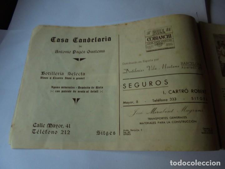 Coleccionismo: magnifico antiguo programa fiesta mayor sitges del 1947 - Foto 4 - 276732573