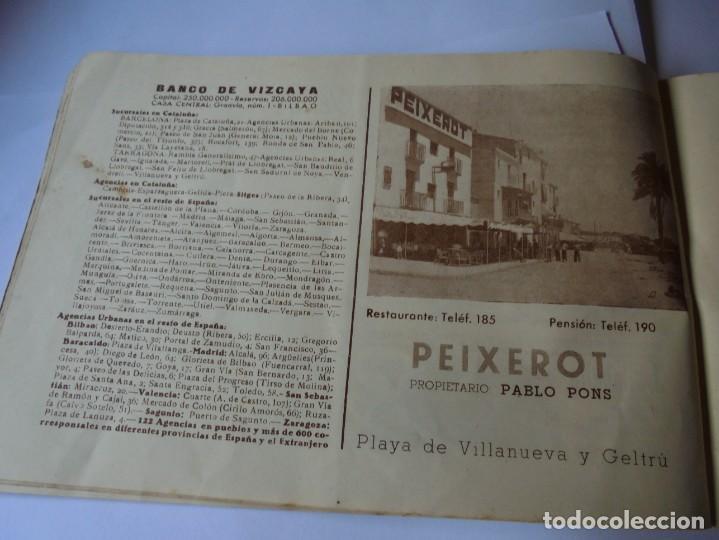 Coleccionismo: magnifico antiguo programa fiesta mayor sitges del 1947 - Foto 20 - 276732573
