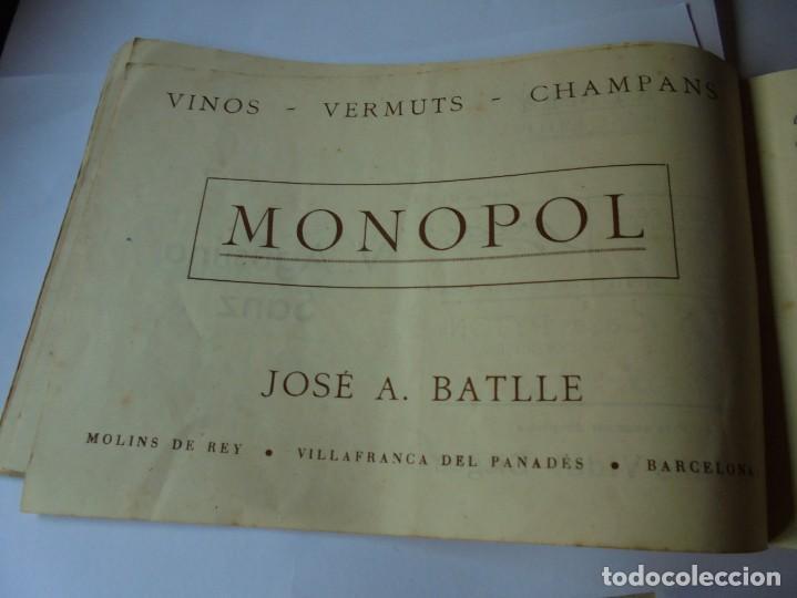 Coleccionismo: magnifico antiguo programa fiesta mayor sitges del 1947 - Foto 26 - 276732573
