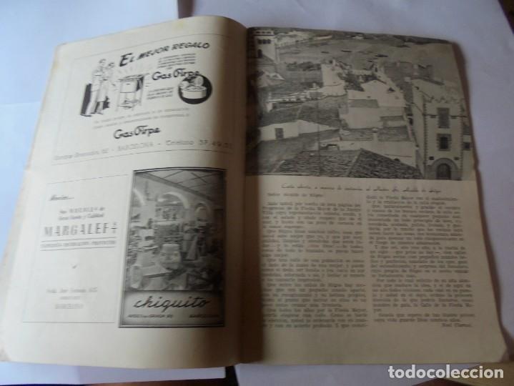 Coleccionismo: magnifico antiguo programa fiesta mayor sitges del 1952 - Foto 7 - 276732923