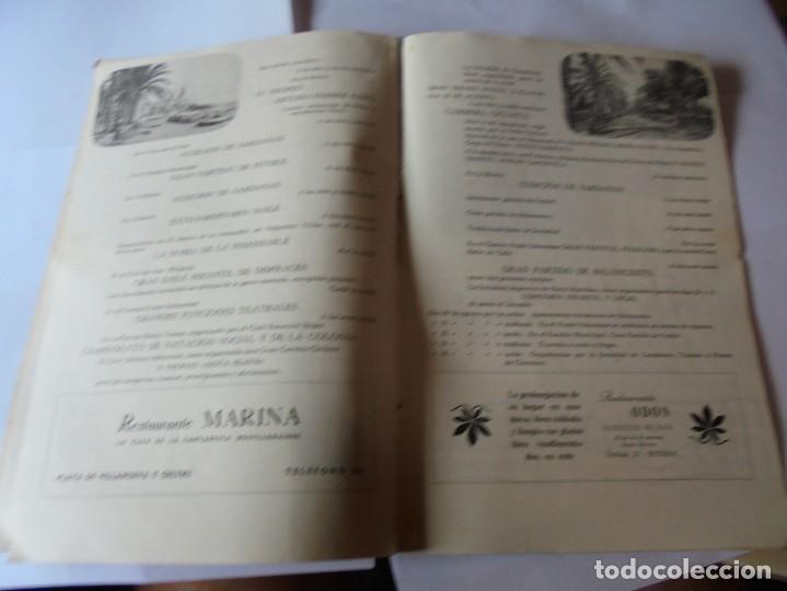 Coleccionismo: magnifico antiguo programa fiesta mayor sitges del 1952 - Foto 11 - 276732923