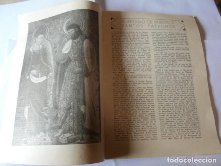 Coleccionismo: magnifico antiguo programa fiesta mayor sitges del 1957 - Foto 4 - 276733248