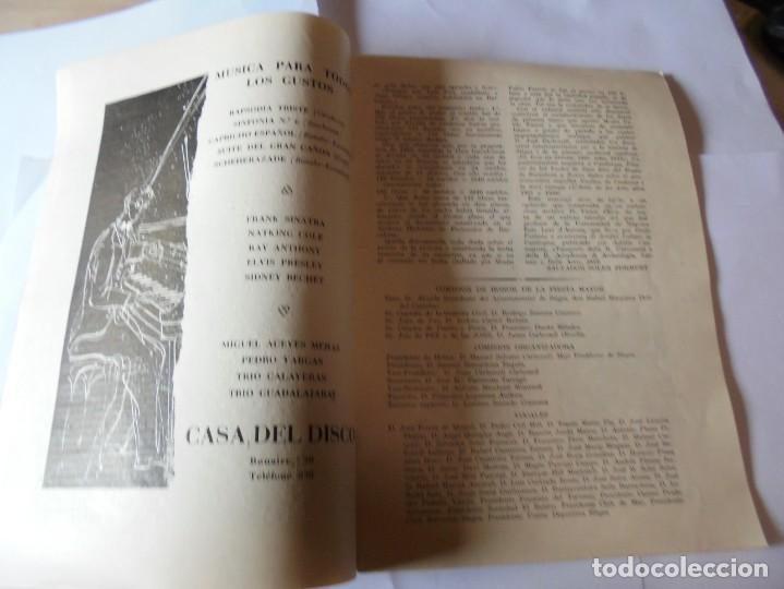 Coleccionismo: magnifico antiguo programa fiesta mayor sitges del 1957 - Foto 5 - 276733248
