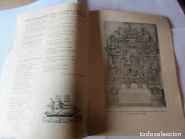 Coleccionismo: magnifico antiguo programa fiesta mayor sitges del 1957 - Foto 9 - 276733248