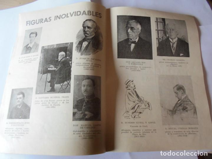 Coleccionismo: magnifico antiguo programa fiesta mayor sitges del 1957 - Foto 12 - 276733248