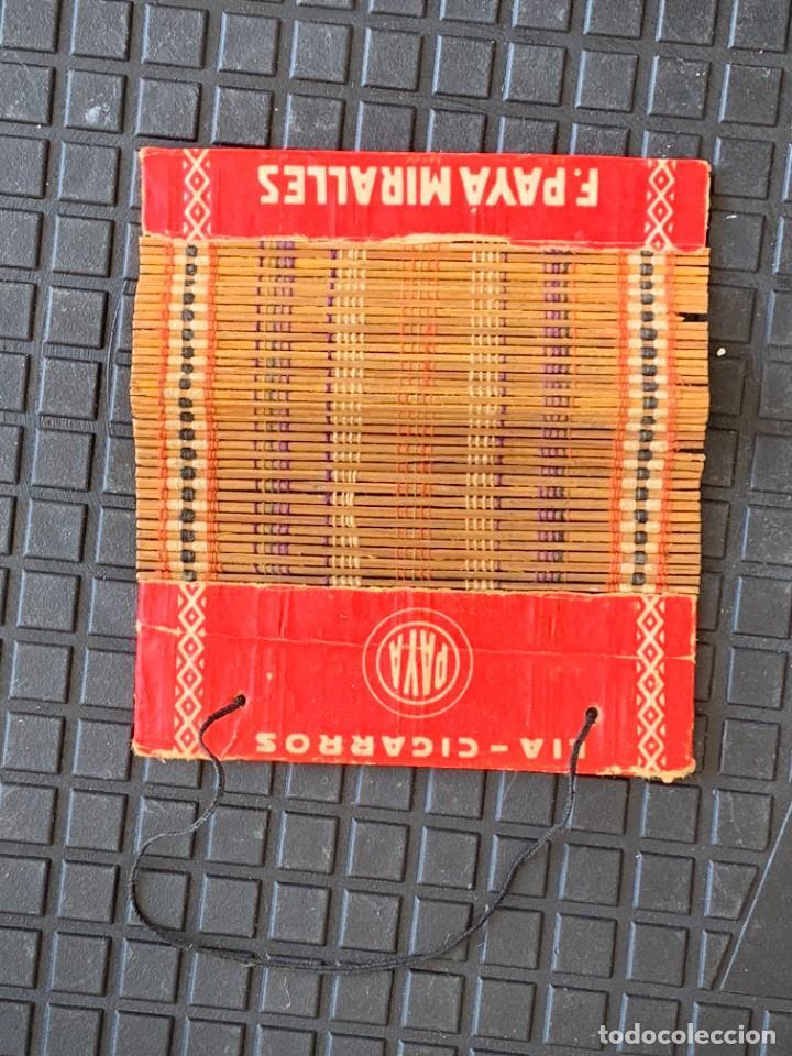 ESTERILLA LIAR CIGARRILLOS ALCOY PAYA 10X9CMS (Coleccionismo - Objetos para Fumar - Otros)