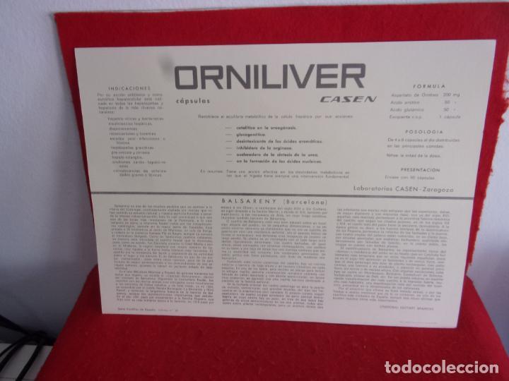 Coleccionismo: laminas publicidad medica casen con castillo este Balsareny (Barcelona) mide 35x26 cm - Foto 2 - 276957233
