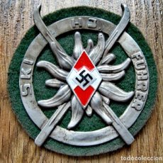 Coleccionismo: INSIGNIA DE HITLERJUGEND , WEHRMACHT , TERCER REICH , NAZI ALEMANIA ,ADOLF HITLER , ALUMINO. Lote 277203843
