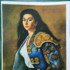 Coleccionismo: REPRODUCCION PINTURA RETRATO POR ROSA ARSALAGUET - LAMINAVARIOS-0034. Lote 277583948