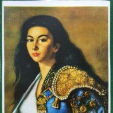 Coleccionismo: REPRODUCCION PINTURA RETRATO POR ROSA ARSALAGUET - LAMINAVARIOS-0035. Lote 277584963