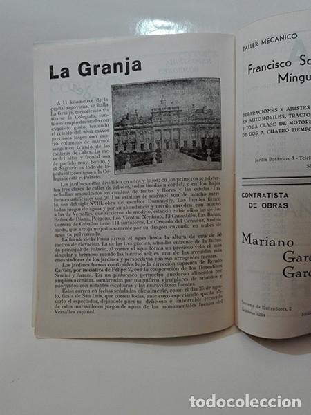 Coleccionismo: 1964. Segovia. Programa de Fiestas. - Foto 3 - 277599918