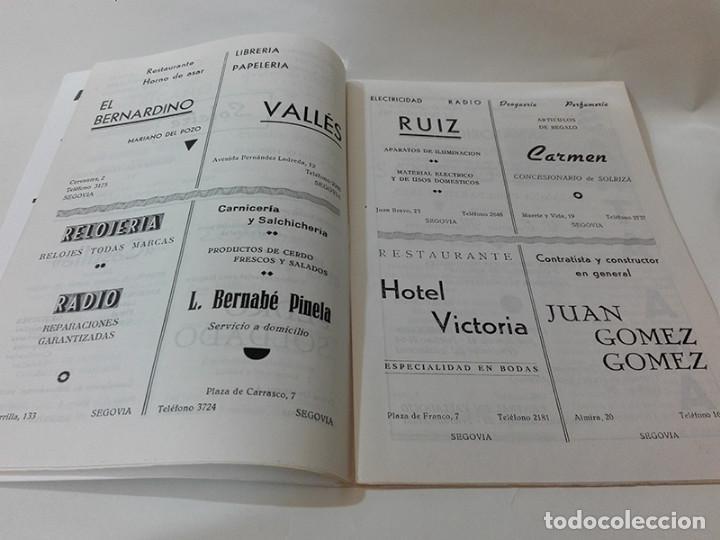 Coleccionismo: 1964. Segovia. Programa de Fiestas. - Foto 4 - 277599918
