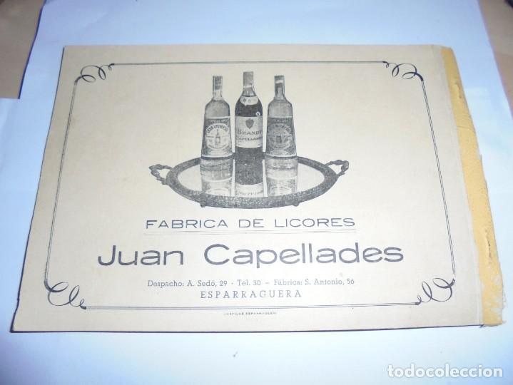 Coleccionismo: magnifico antiguo programa de la fiesta mayor de esparraguera del 1957 - Foto 3 - 277663278