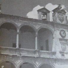 Coleccionismo: VILLARROBLEDO ALBACETE ANTIGUA LAMINA HUECOGRABADO. Lote 278503103