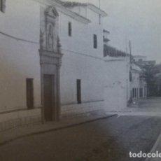Coleccionismo: VILLARROBLEDO ALBACETE ANTIGUA LAMINA HUECOGRABADO. Lote 278503123