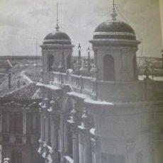 Coleccionismo: VILLARROBLEDO ALBACETE ANTIGUA LAMINA HUECOGRABADO. Lote 278503188