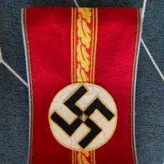 Coleccionismo: BRAZALETE ALEMANIA NAZI ORTSGRUPPENLEITER. Lote 278560173