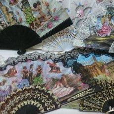 Coleccionismo: LOTE DE 13 ABANICOS SOUVENIR. Lote 278679258