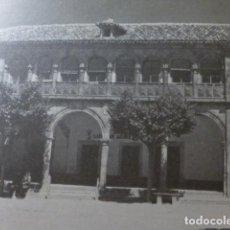 Coleccionismo: EL BONILLO ALBACETE ANTIGUA LAMINA HUECOGRABADO. Lote 278704718