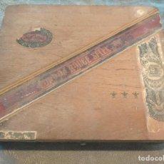Coleccionismo: ANTIGUA CAJA DE PUROS CORDON ROUGE SELECTION JOSÉ GENER HABANA AÑOS 20-30. Lote 278826228