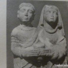 Coleccionismo: CERRO DE LOS SANTOS ALBACETE ANTIGUA LAMINA HUECOGRABADO. Lote 278923473
