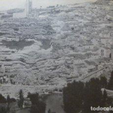 Coleccionismo: ALCALA DEL JUCAR ALBACETE ANTIGUA LAMINA HUECOGRABADO. Lote 278923533