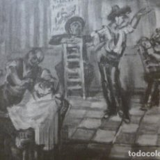 Coleccionismo: MURCIA ANTIGUA LAMINA HUECOGRABADO. Lote 278924318