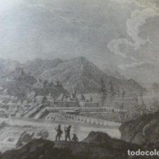 Coleccionismo: CARTAGENA MURCIA ANTIGUA LAMINA HUECOGRABADO. Lote 278924663