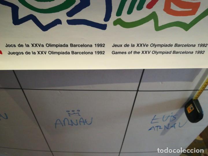 Coleccionismo: Lamina Barcelona 92 - Foto 2 - 279405518
