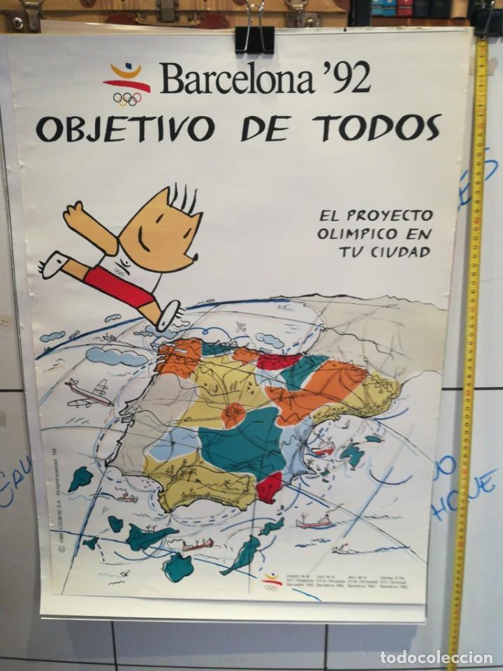 LAMINA BARCELONA '92 (Coleccionismo - Laminas, Programas y Otros Documentos)