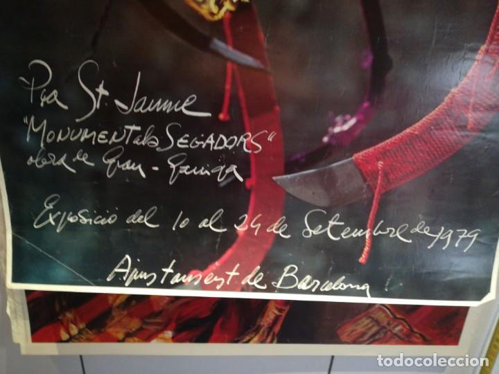 Coleccionismo: Lamina 11 de Setembre Ajuntament de Barcelona - Foto 2 - 279405993