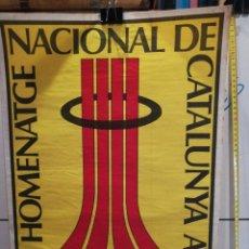 Coleccionismo: LAMINA HOMENATGE NACIONAL DE CATALUNYA LA SARDANA. Lote 279406163